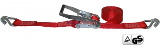 50mm * 5m w/2 J-hook Ratchet straps