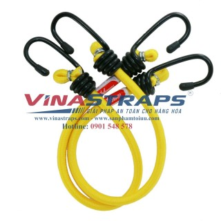 Bungee strap 45 cm with steel hook